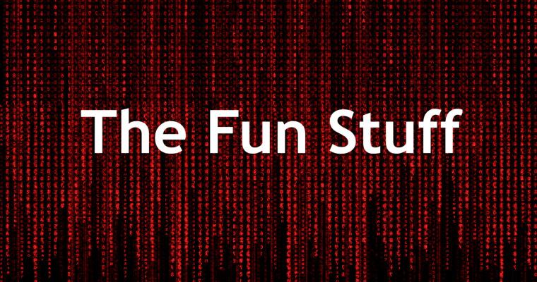 Seeing Red: The Fun Stuff