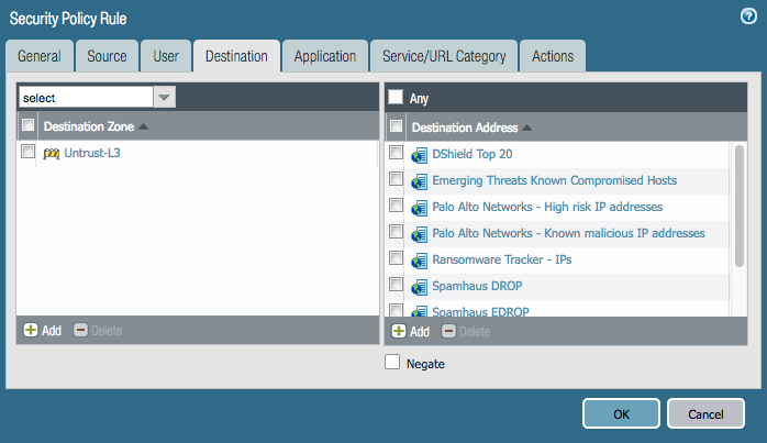 Palo Alto Firewall: External Dynamic Lists - ericooi com